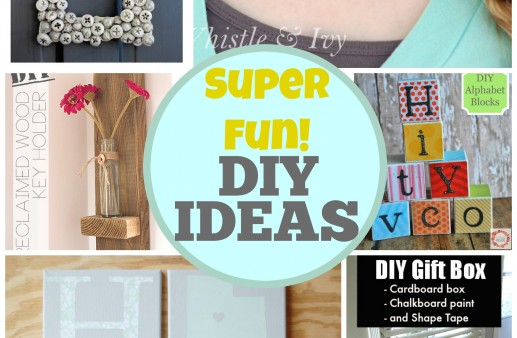 15 Super Fun DIY Ideas via PinkWhen.com