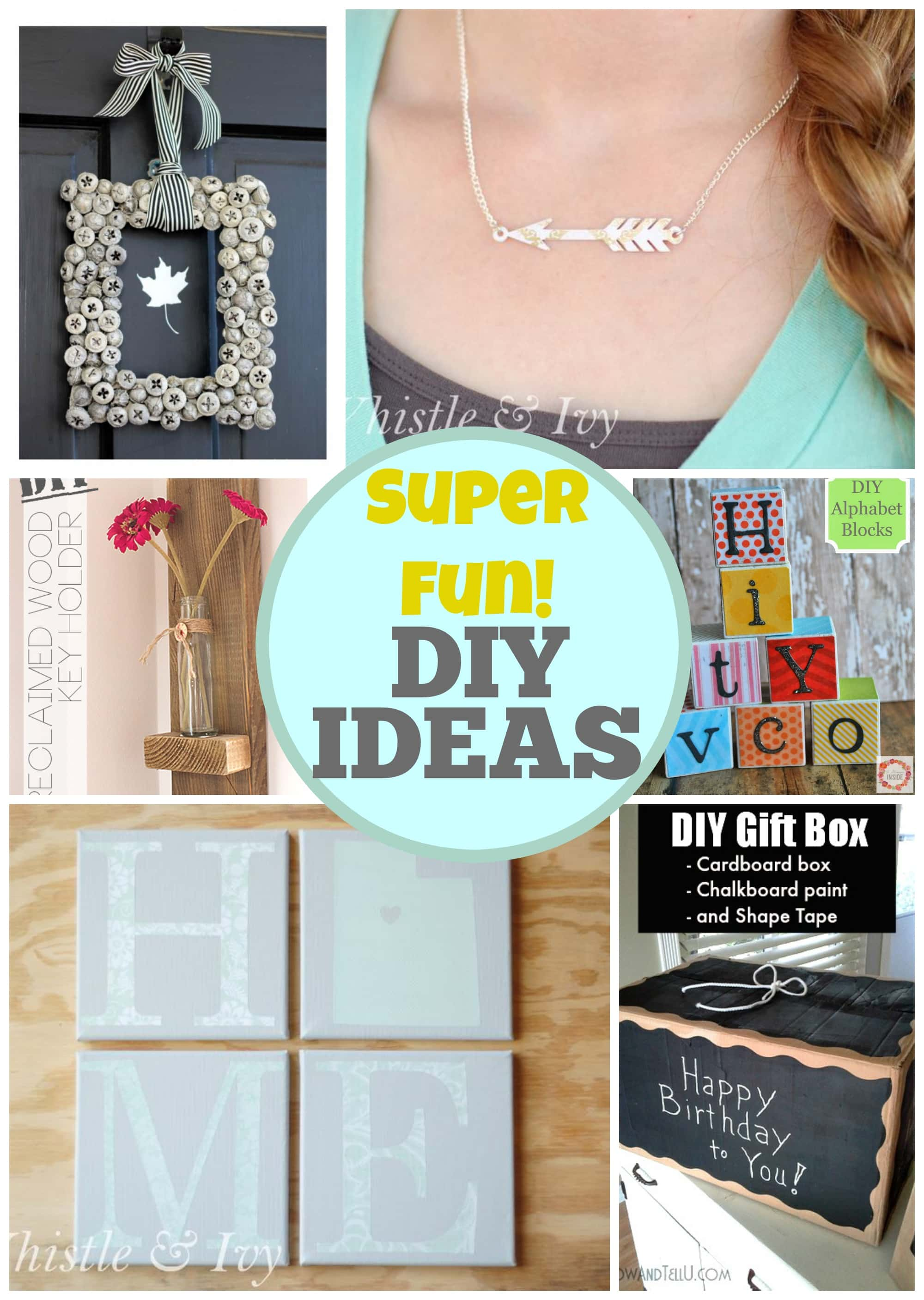15 Super Fun DIY Ideas via PinkWhen.com