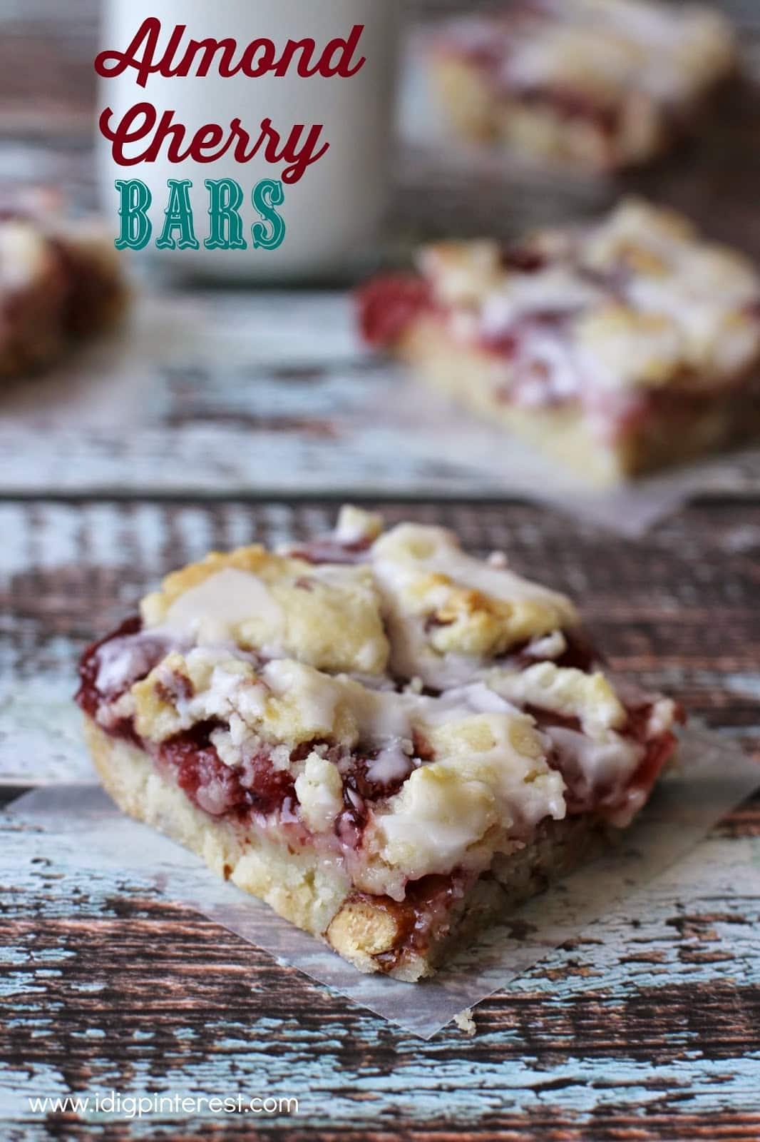 Almond Cherry Bars3