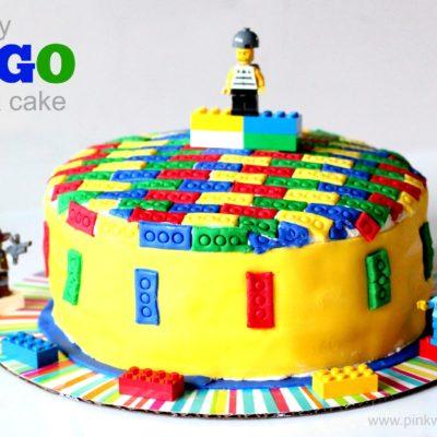 DIY Lego Cake