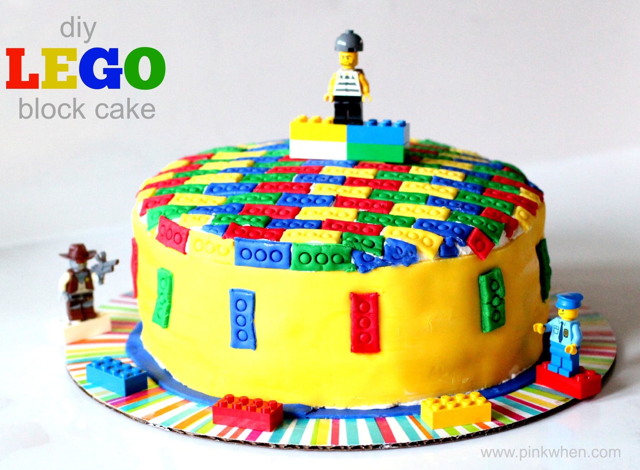 Lego Blocks Cake Design : DIY Lego Cake - Page 2 of 2 - PinkWhen