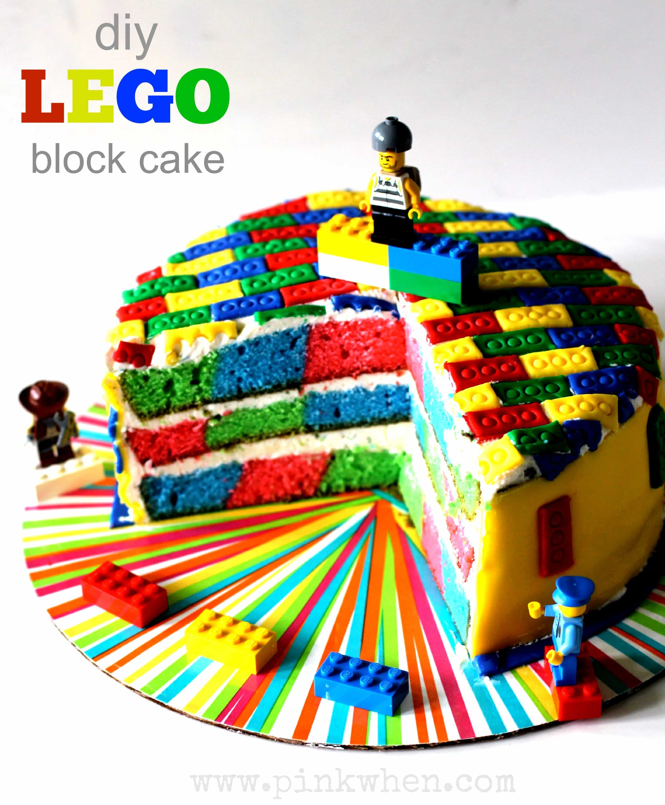 Lego Birthday Cake Set