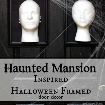Haunted Mansion Inspired Halloween Frames