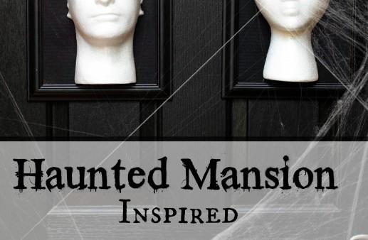 Haunted Mansion Inspired Halloween Framed 3D Door Decor