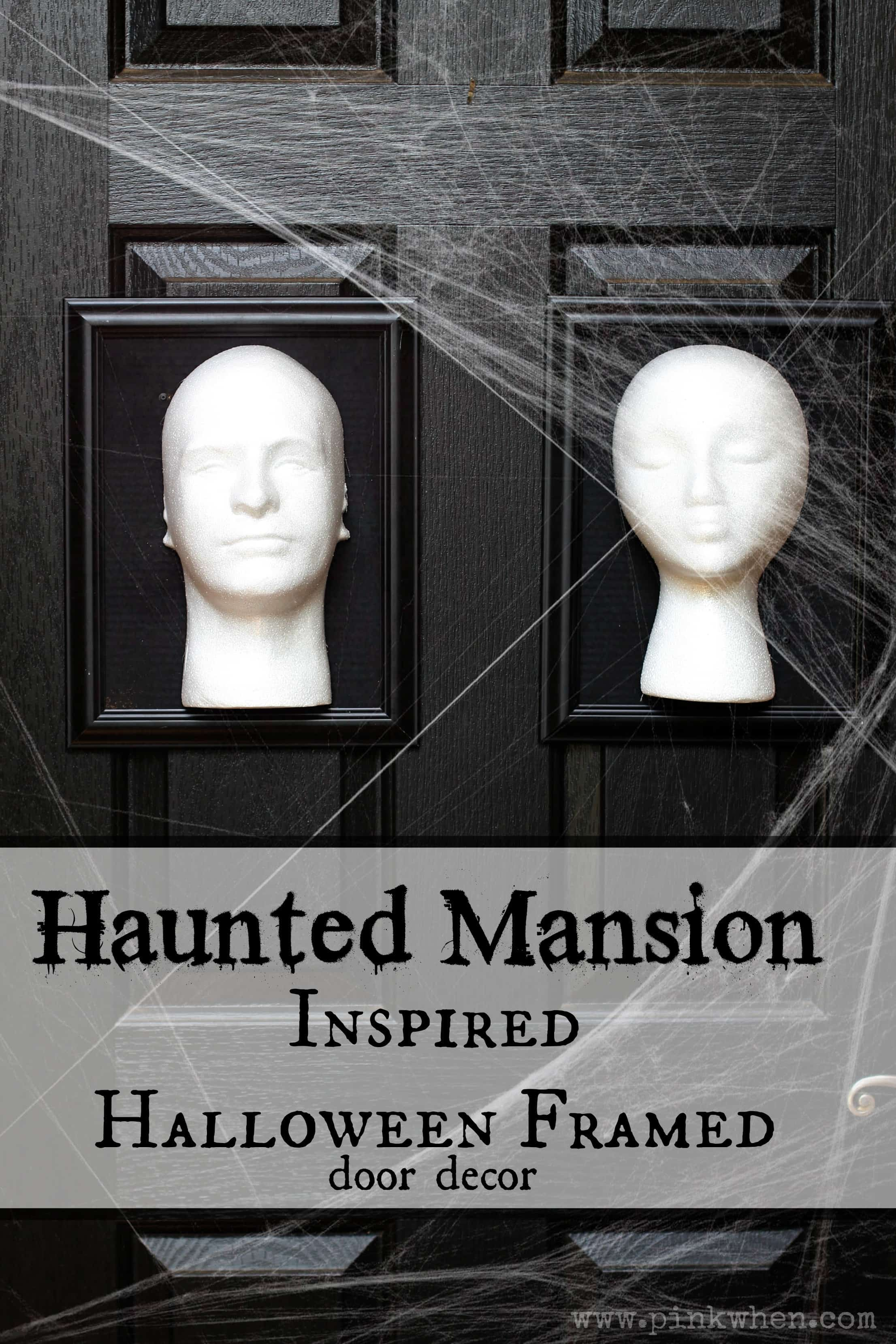 Haunted Mansion Inspired Halloween Frames Pinkwhen