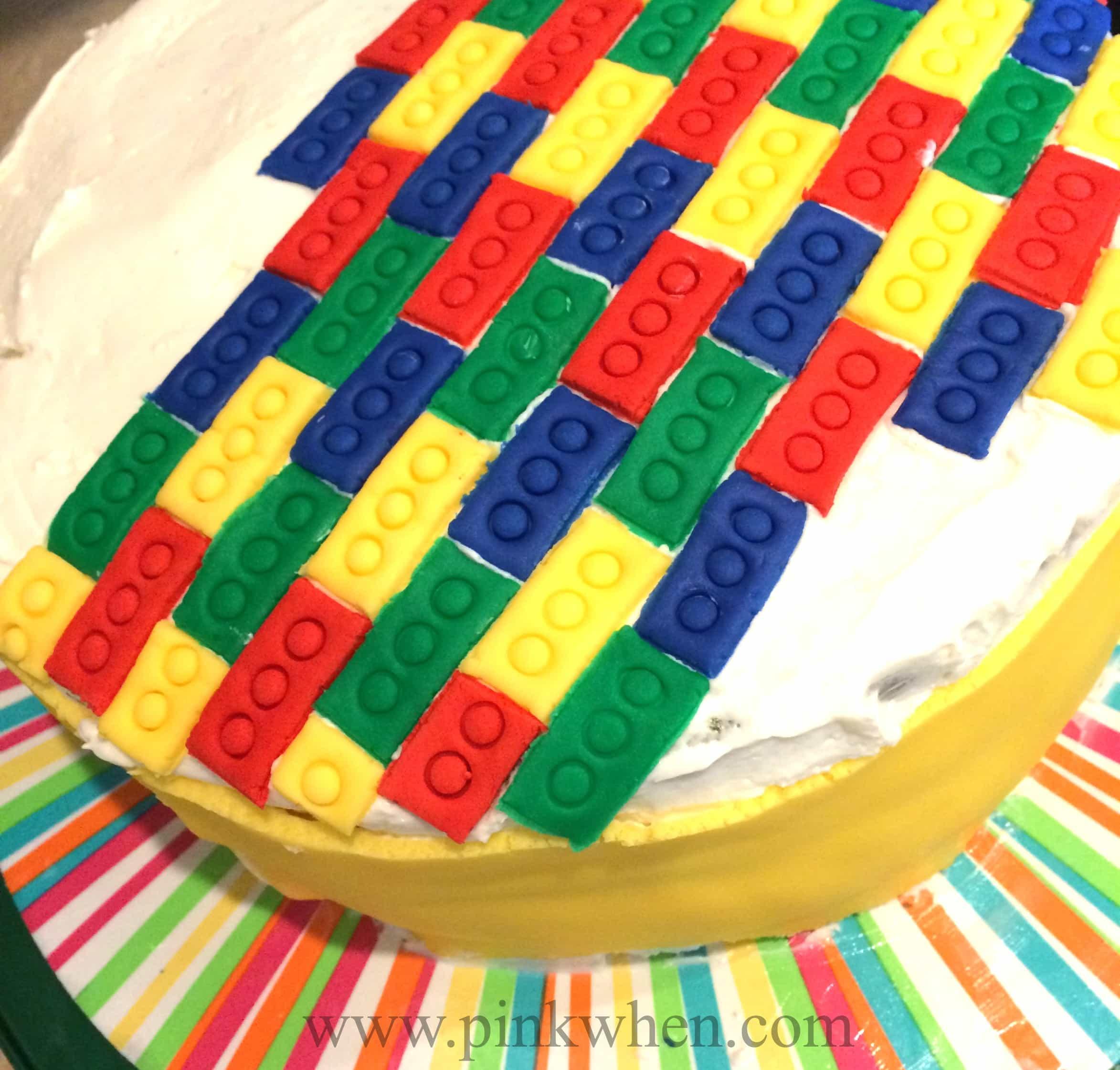 Lego Cake Start