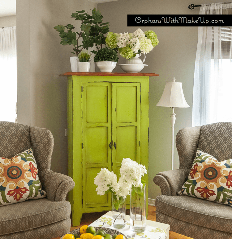 Lime Armoire