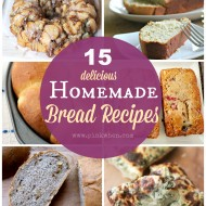 15 Delicious Homemade Bread Recipes