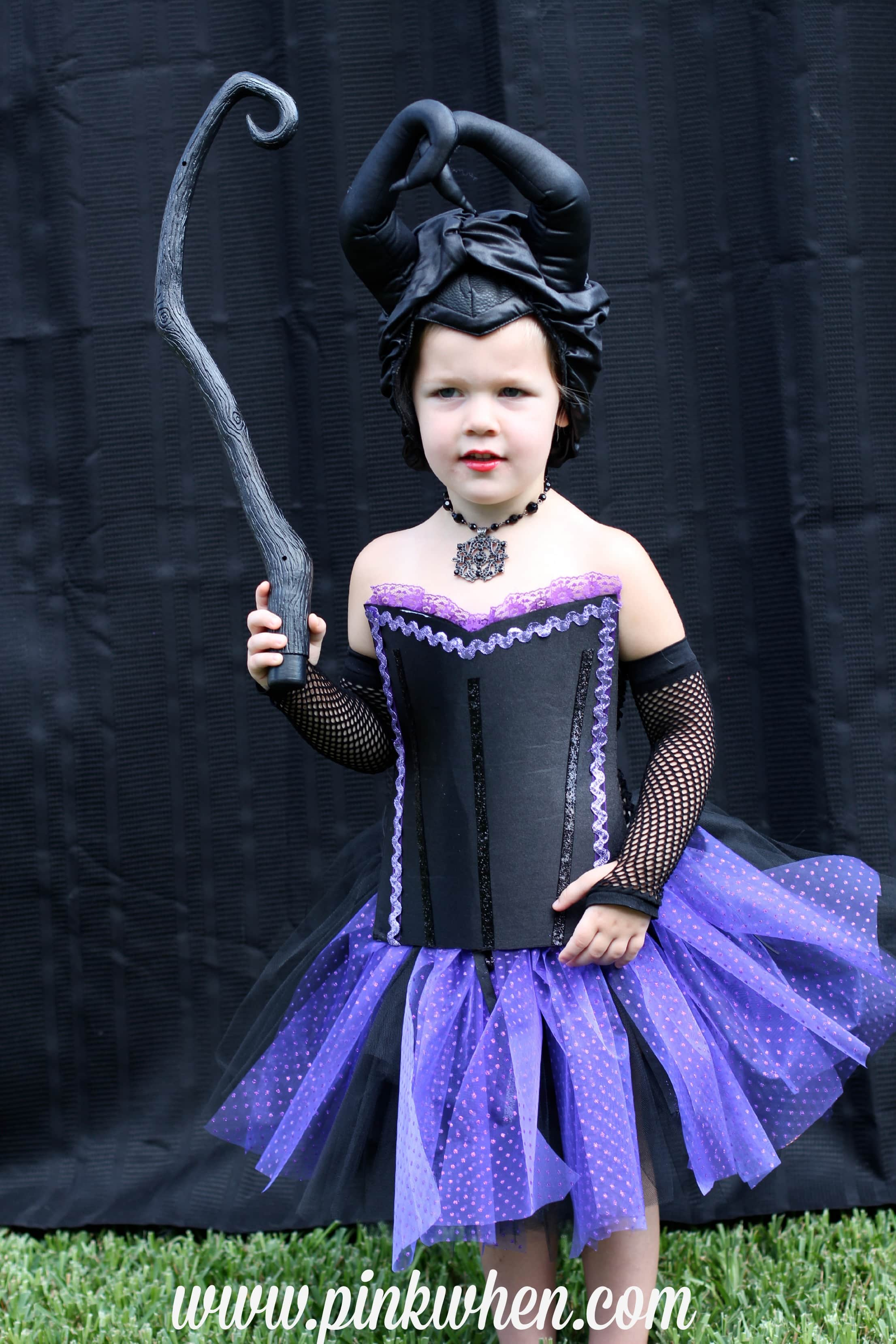diy no sew maleficent costume - page 2 of 2