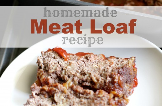 Homemade Brown Sugar Meatloaf Recipe via PinkWhen.com