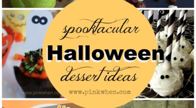 Spooktacular Halloween Dessert Ideas via PinkWhen.com