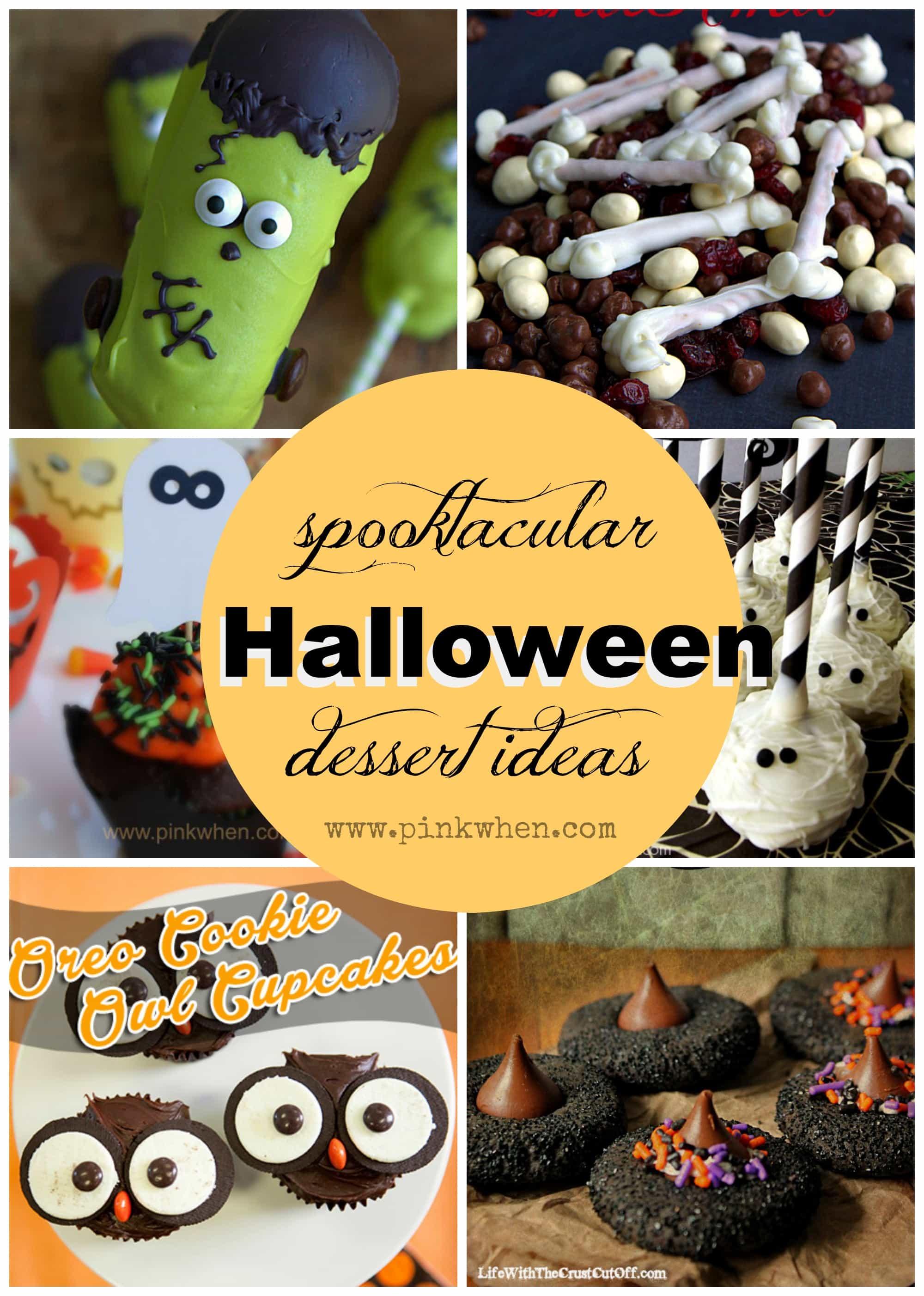 Halloween Dessert Ideas - PinkWhen