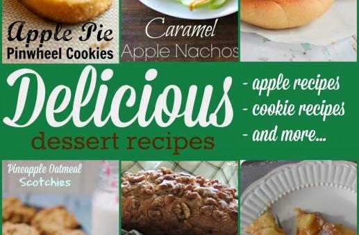 15 Delicious Dessert Recipes via PinkWhen.com