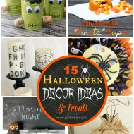 15 Halloween Decor Ideas and Treats!
