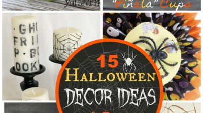 15 Halloween Decor Ideas and Halloween Treats via PinkWhen.com