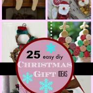 25 DIY Easy Christmas Gift Ideas
