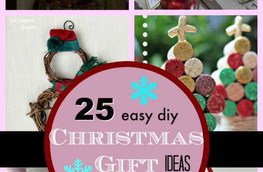 25 Easy DIY Christmas Gift Ideas