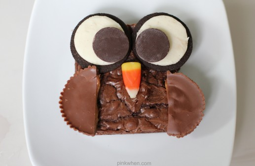 Delicious Brownie Owl treat from PinkWhen.com