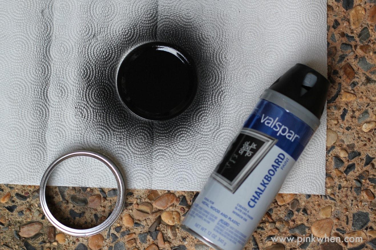 DIY Chalkboard Mason Jar Gift