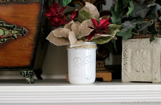 DIY Rustic Christmas Gift Idea #MakeItFunCrafts via PinkWhen.com