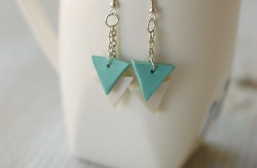 Diy Polymer Clay Geometric Earring Tutorial