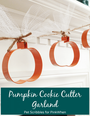 Pumpkin Cookie Cutter Garland