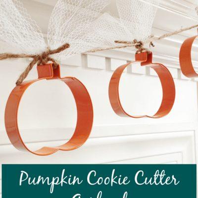 Pumpkin Cookie Cutter Garland
