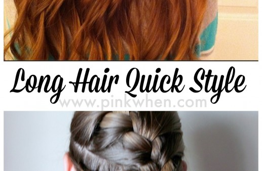 Quick TangleFix After School Activity Girls Hairstyle 7