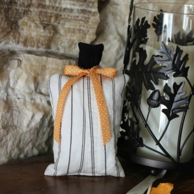 How to Make 15 Minute Scrap Buster Fabric Pumpkins