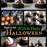 Simply Cute Candy Witch Hats!