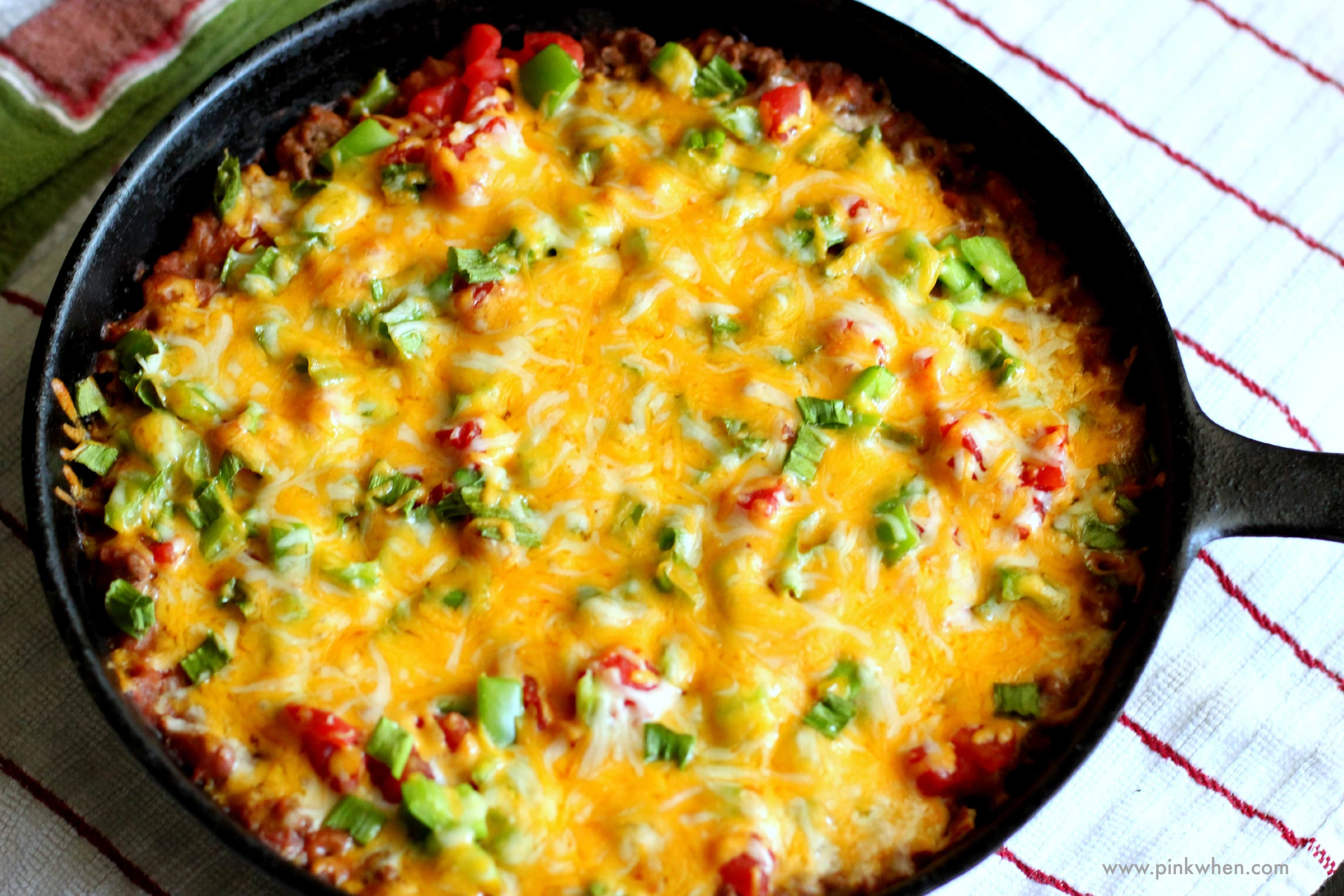 Top the casserole with remaining diced tomatoes, remaining tortilla ...