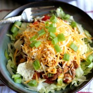 Skillet Beef and Bean Taco Casserole