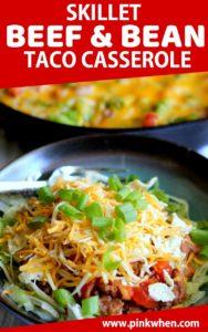 Taco Casserole in a bowl.