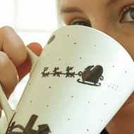 DIY Handmade Christmas Mugs