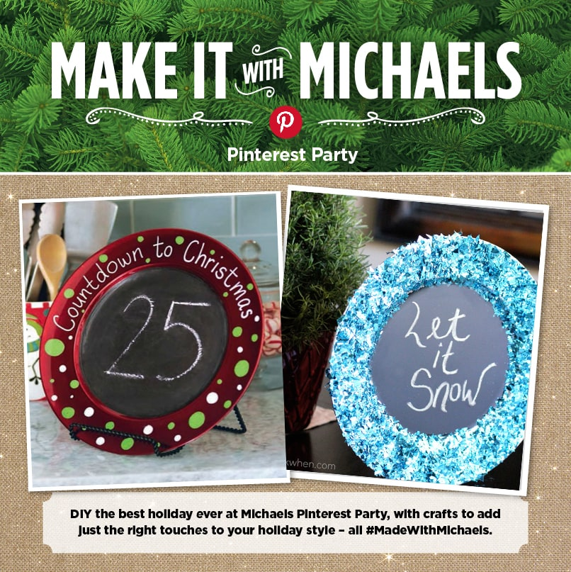 #MadeWithMichaels Pinterest Party project comparison