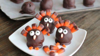 OREO Cookie Balls - Thanksgiving Turkey - #OREOCookieBalls #CollectiveBias #shop