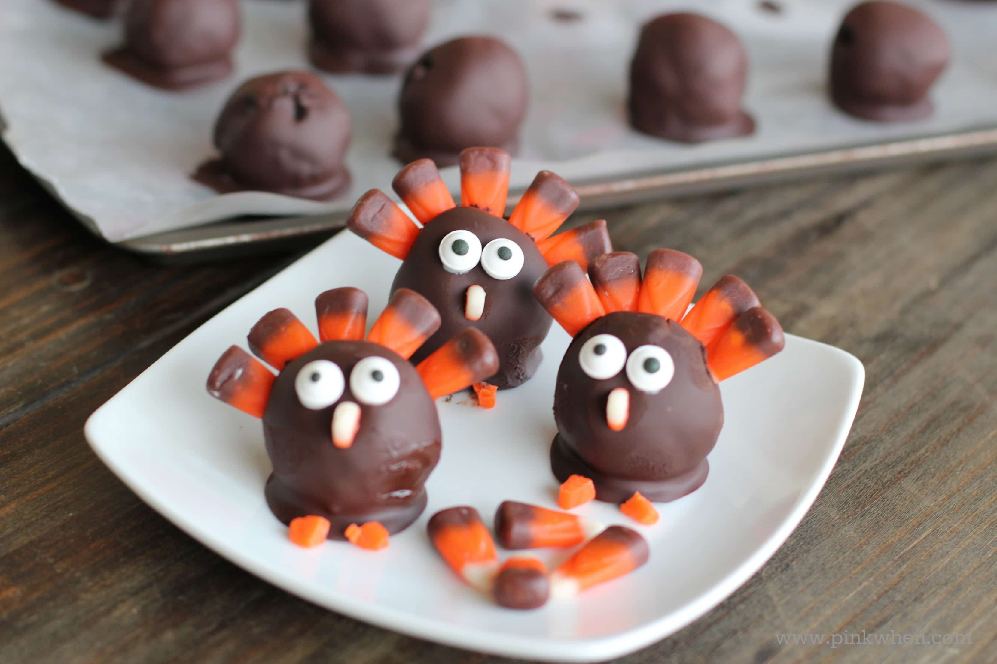 OREO Cookie Balls - Thanksgiving Turkey - #OREOCookieBalls #CollectiveBias #shop
