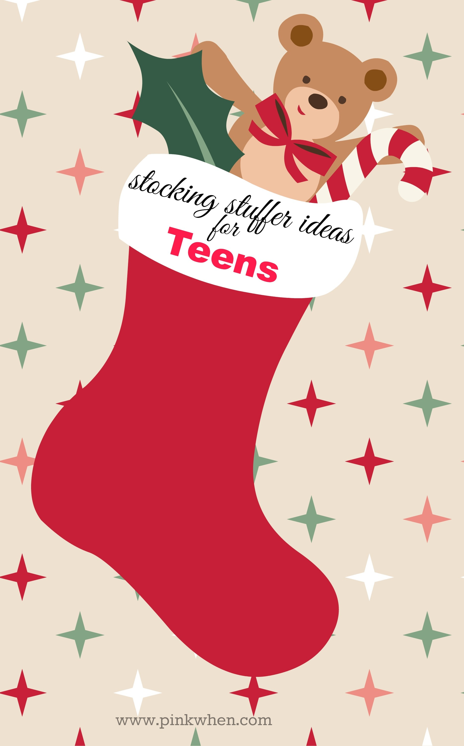 Stocking Stuffer Ideas for Teens - Boys and Girls
