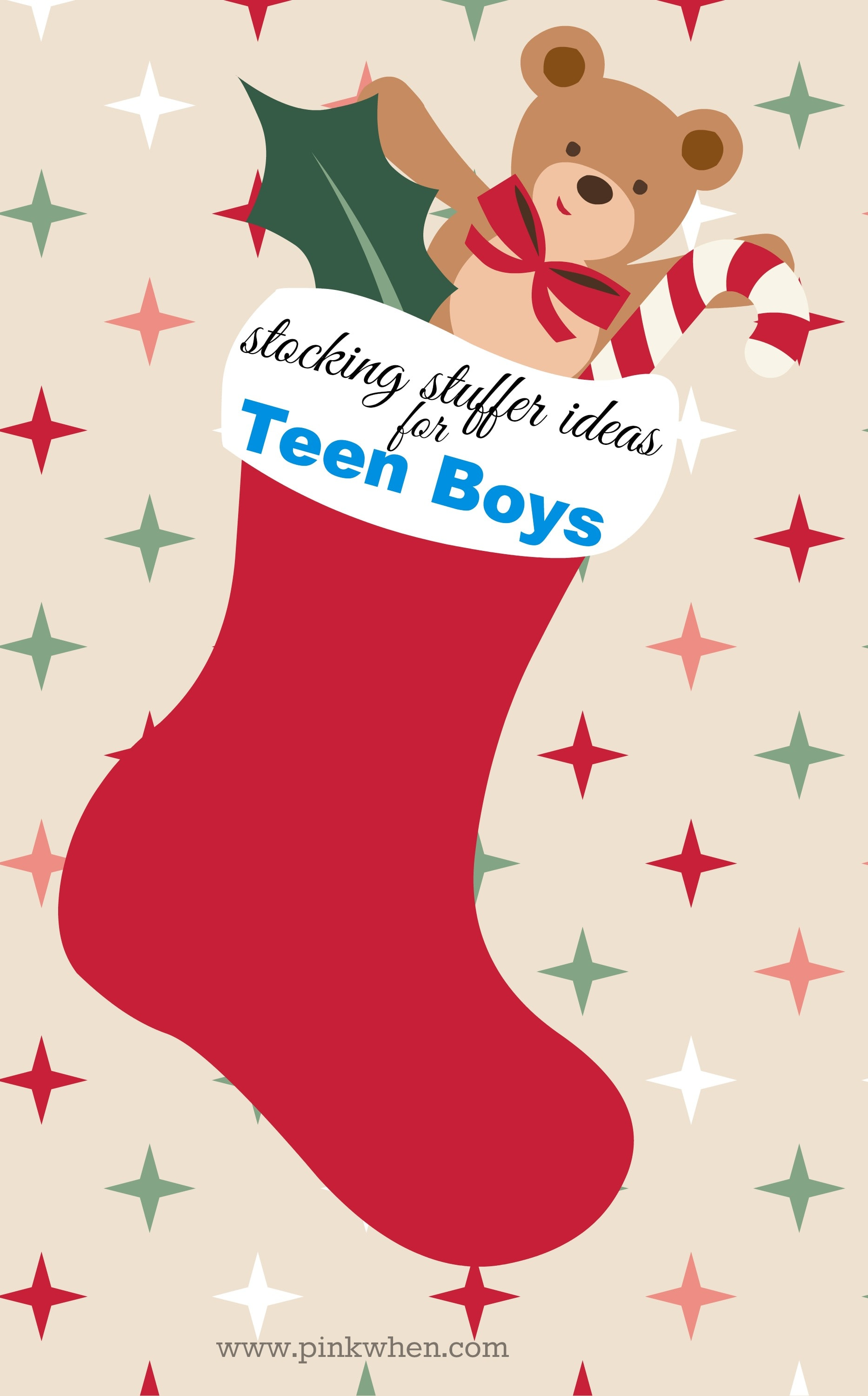 Stocking Stuffer Ideas for Teens - Teen Boys