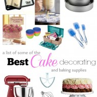 What are the Best Cake Decorating and Baking Supplies