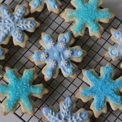 FROZEN Elsa Inspired Cookie Tutorial