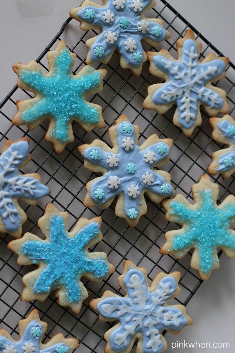 FROZEN Elsa Inspired Cookies