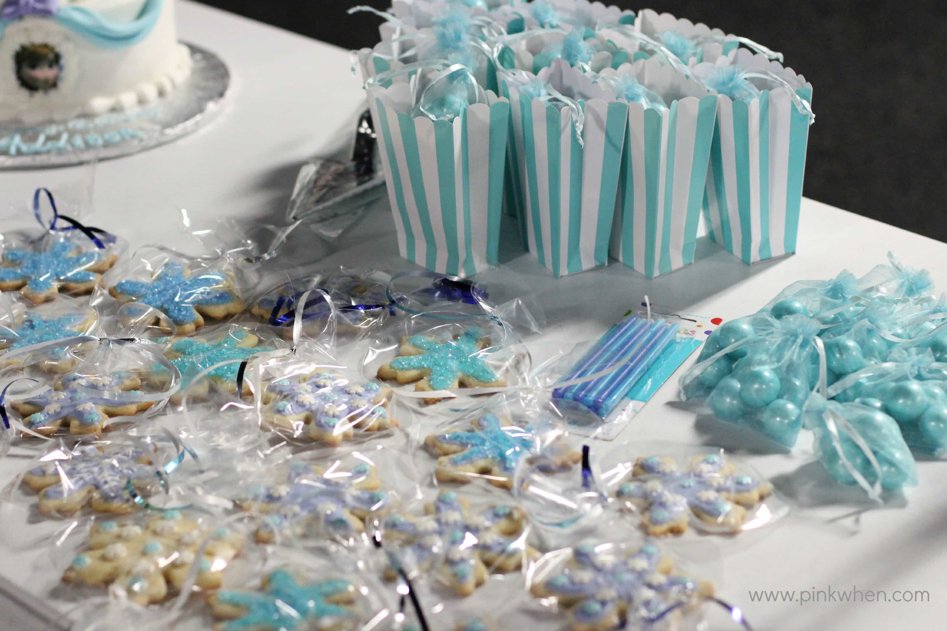 FROZEN Inspired Party Ideas - PinkWhen