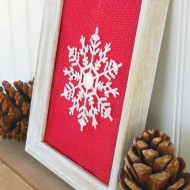 Framed Snowflake Ornament