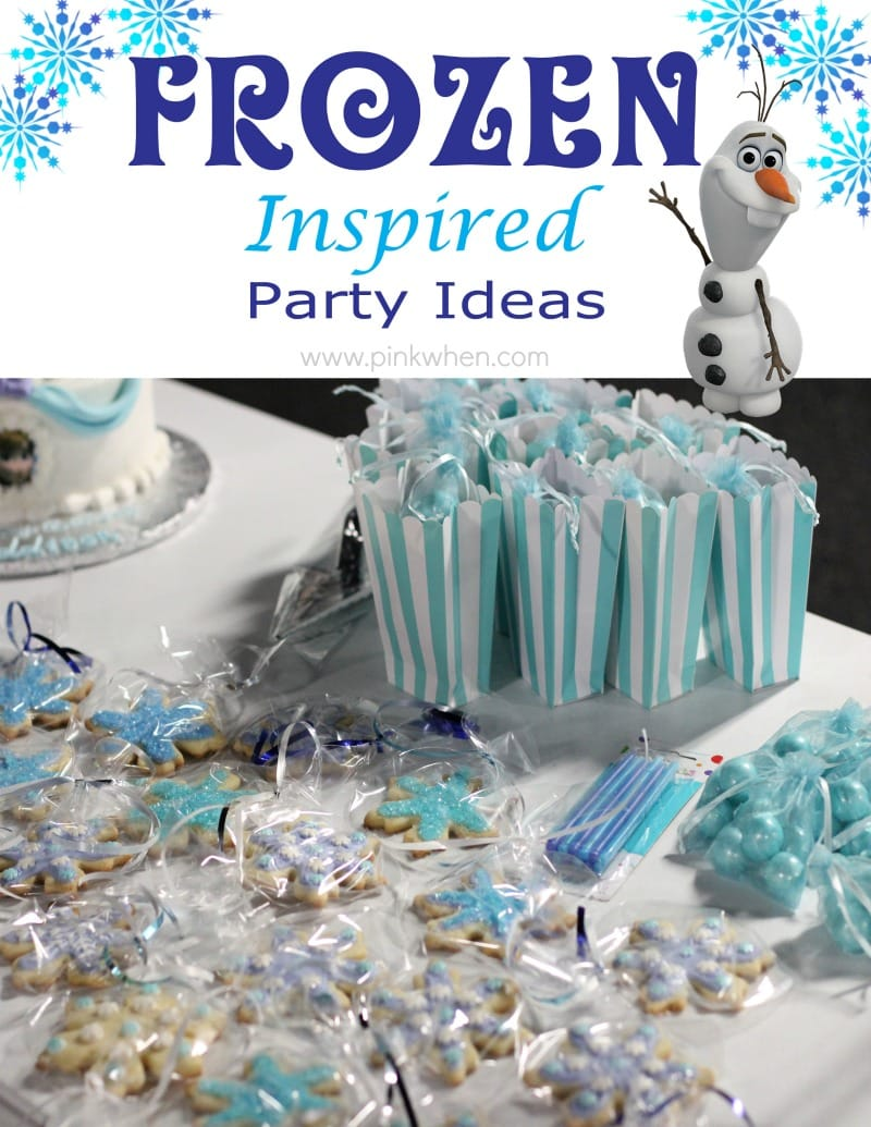 Frozen Inspired Party Ideas via PinkWhen.com