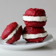 Red Velvet 3 Ingredient Cake Mix Cookies