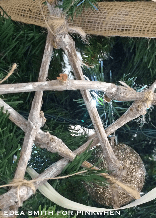 Rustic Handmade Christmas Decorations