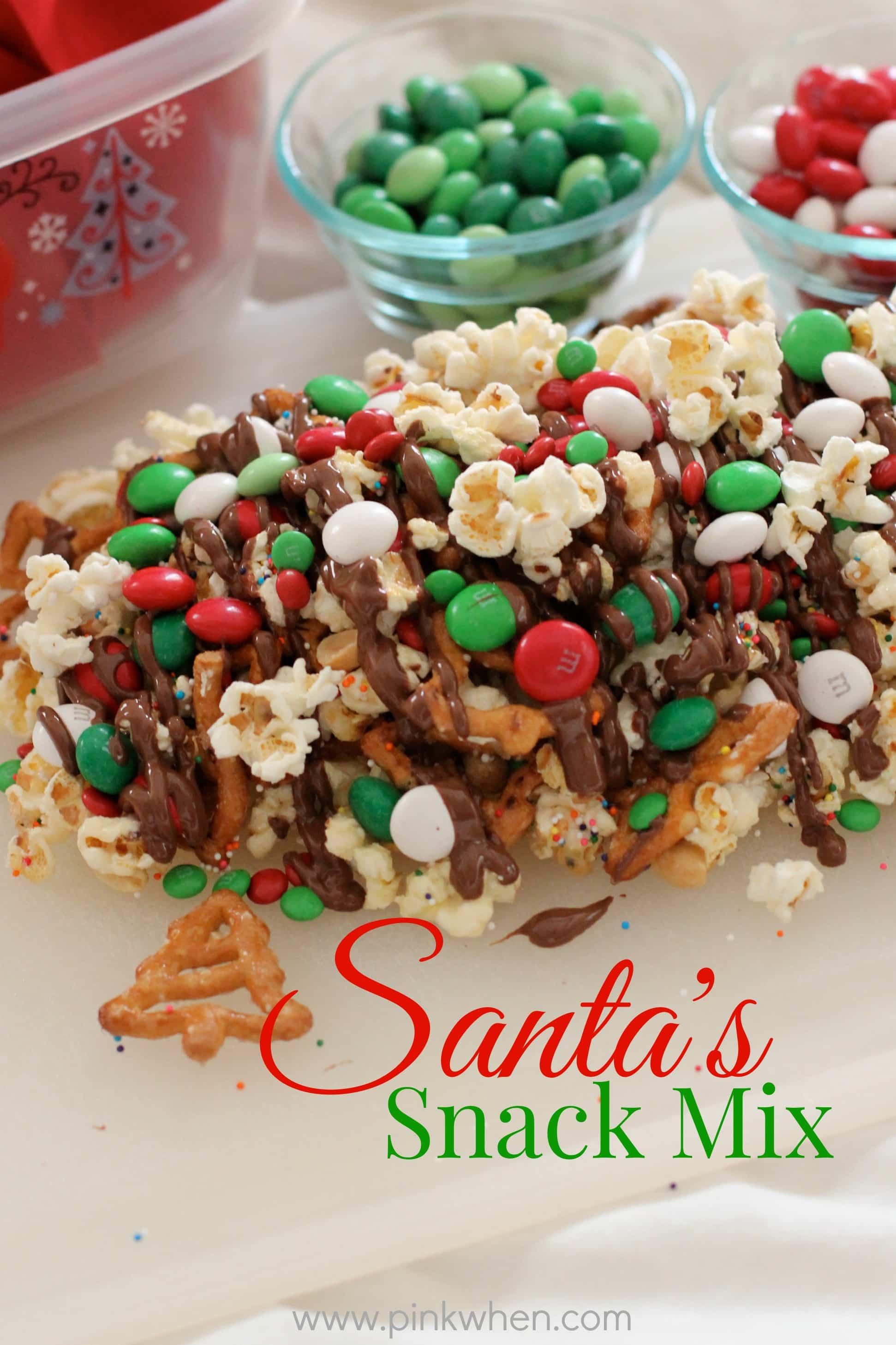 Holiday Snack Mix Recipe — Dishmaps