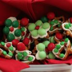 White Chocolate Christmas Holiday Pretzels