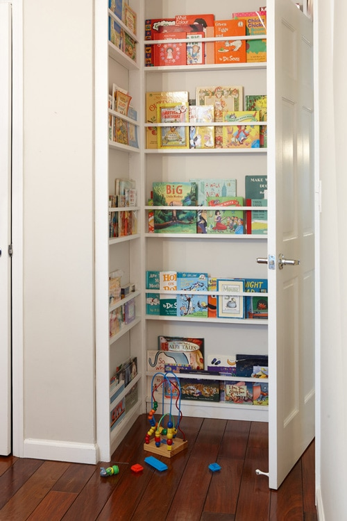 Book Storage via Design Sponge